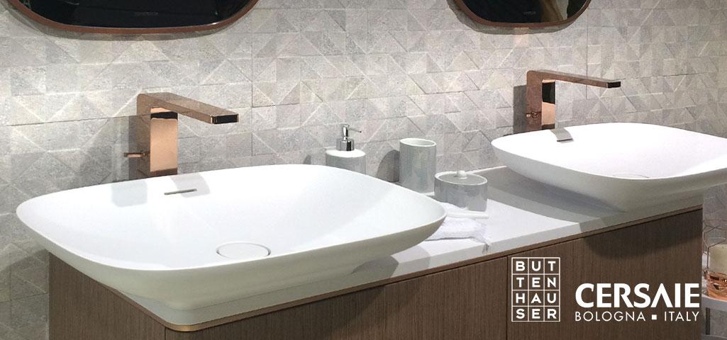 fliesentrends 2018 cersaie italy buttenhauser i fliesen naturstein parkett. Black Bedroom Furniture Sets. Home Design Ideas