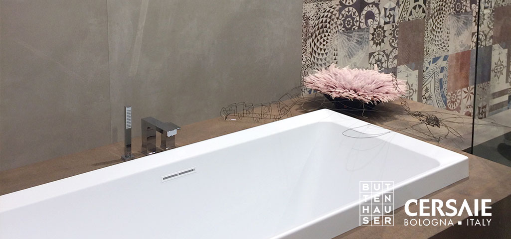 fliesentrends 2018 cersaie italy buttenhauser i fliesen. Black Bedroom Furniture Sets. Home Design Ideas