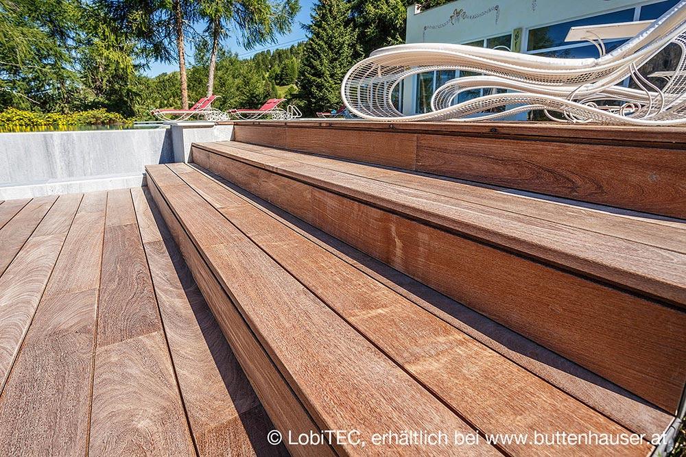 Holzterrasse LobiTEC von Lobis