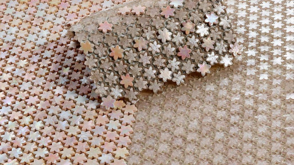 SICIS Mosaik in Rosa