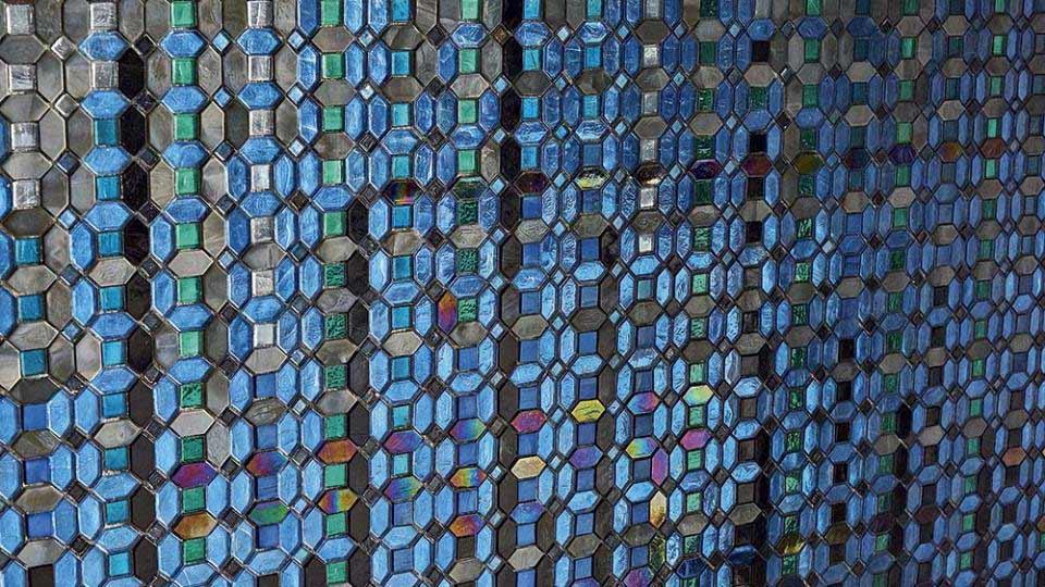 SICIS Mosaik in Blau