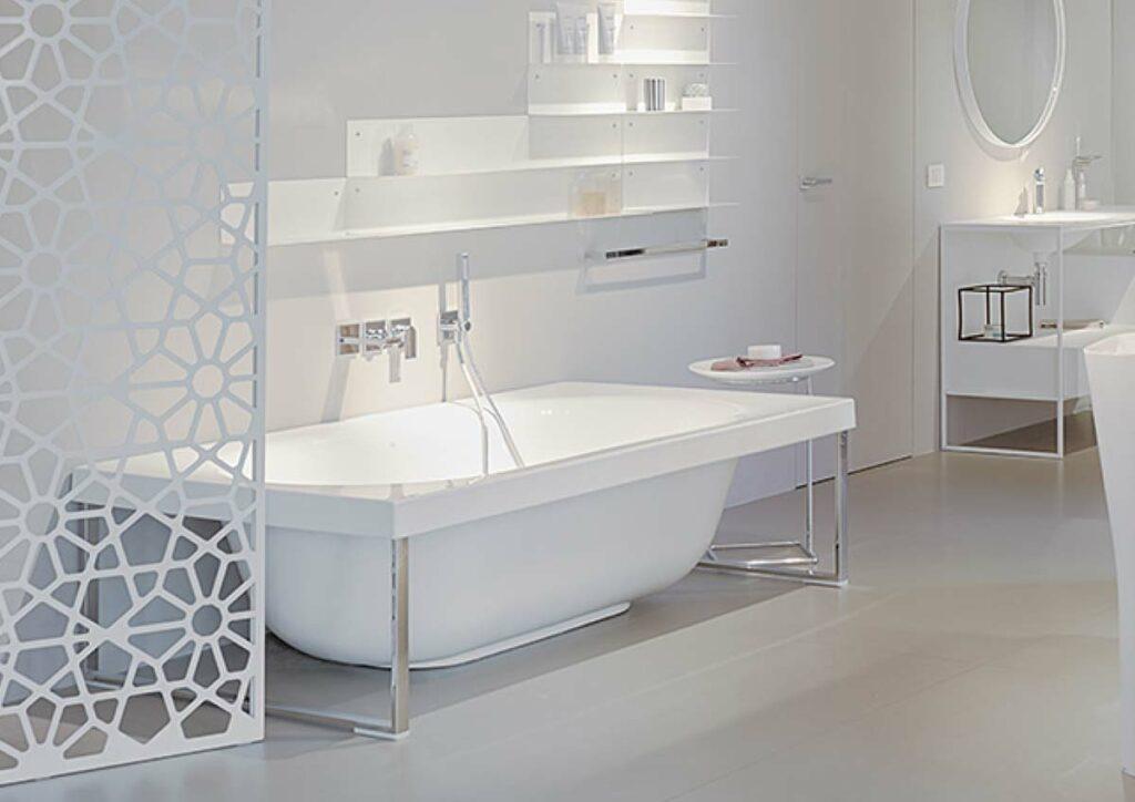 Freistehende Design Badewanne