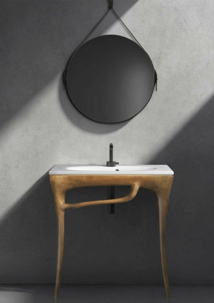 Einzelstück Design Waschtisch aus Holz
